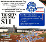 Melanoma Awareness Day with the Camden Riversharks